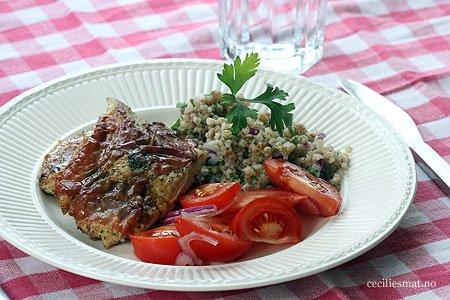 Saltimbocca-av-kylling