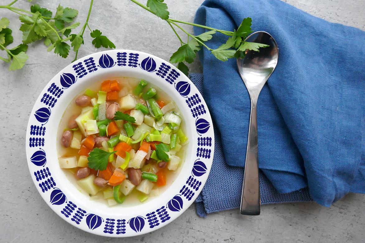 Oppskrift på grønnsaksuppe