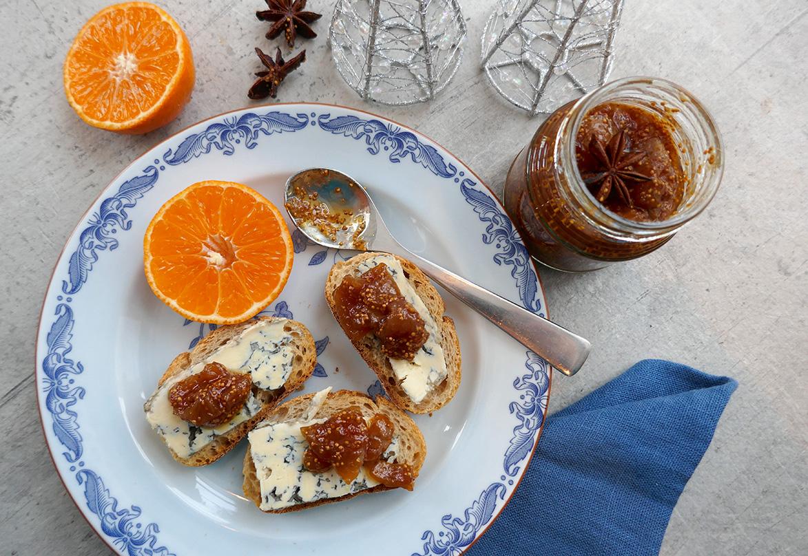Fikenmarmelade med sitron